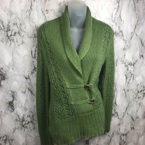 Old Navy Woman's Knit Chunky Cardigan Sweater M